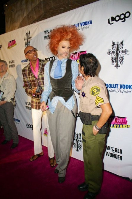 RuPaul calls in the fashion police.