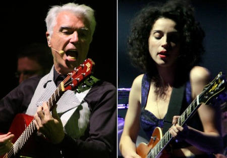 David Byrne & St. Vincent at Bass Concert Hall, 10.5.12