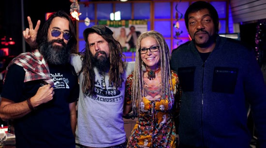 Jeff Daniel Phillips, Rob Zombie, Sheri Moon Zombie and Ken Foree: The new 'Lords of Salem'