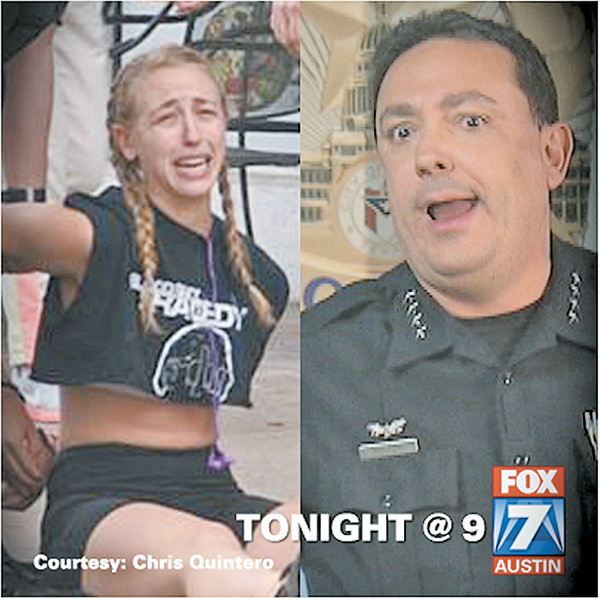 The picture that started it all: Amanda Jo Stephen and Art Acevedo