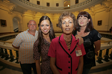 Members of Texas Voices started by San Antonio mother Mary Sue Molnar (c) at ...