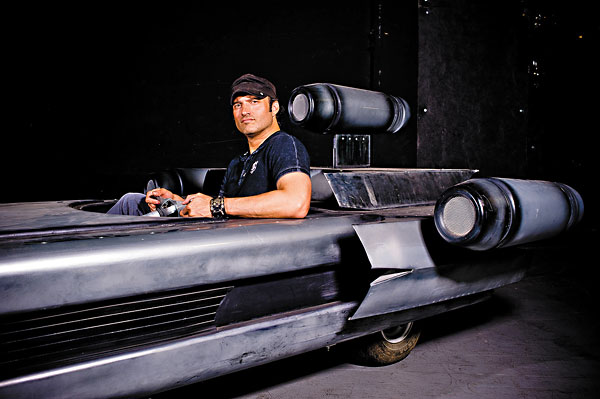 Robert Rodriguez at Troublemaker Studios in August 2012