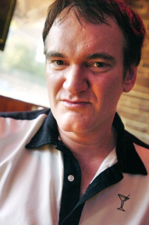 Quentin Tarantino at the Texas Chili Parlor, summer, 2009
