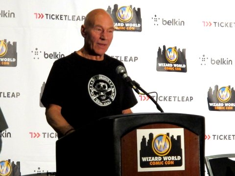 Ey up, lad: Patrick Stewart, the philosopher-king of 'Star Trek: The Next Generation' and Mirfield's finest export