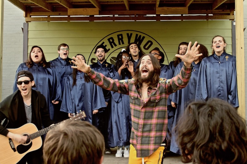 Jared Leto performs in South Austin