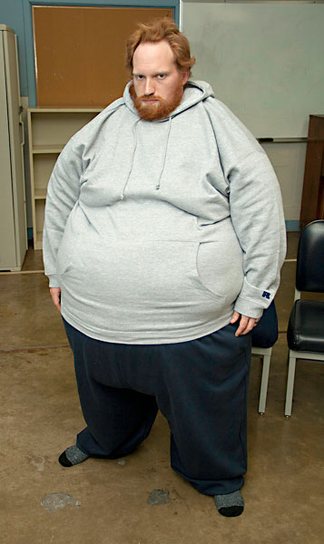 What does a 300 lb woman look like