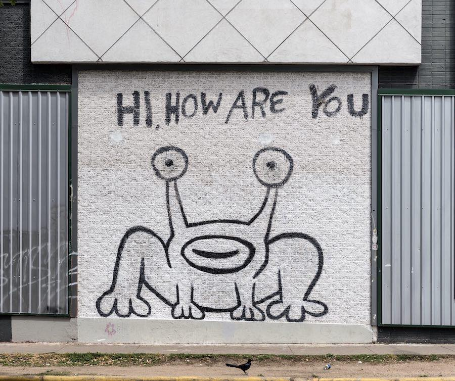 The music lover 39 s guide to austin the essential sounds for Daniel johnston mural