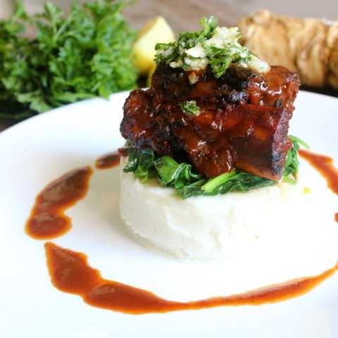Manischewitz Braised Short Ribs with Horseradish Gremolata: This is ...
