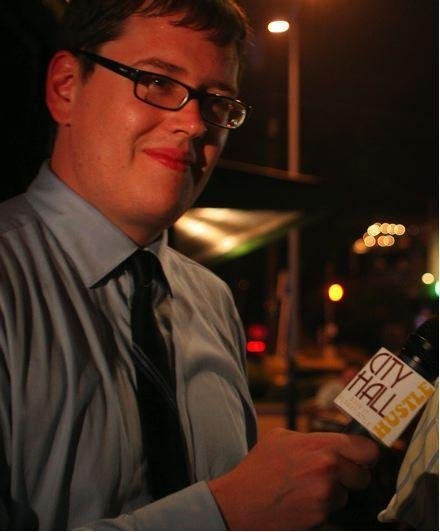 The Hustle on election night, 2008