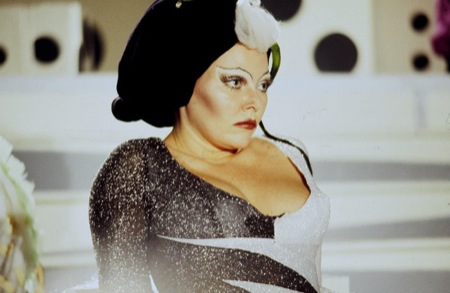 As Queen Doris of the Sixth Dimension in 'Forbidden Zone'