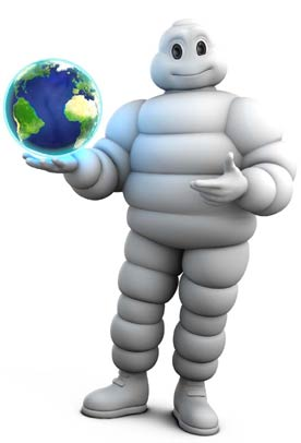 Michelin Man owns the world