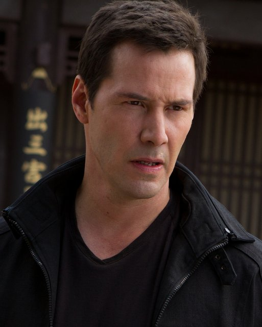 On the other side of the lens: Keanu Reeves as villain and director in Man of Tai Chi