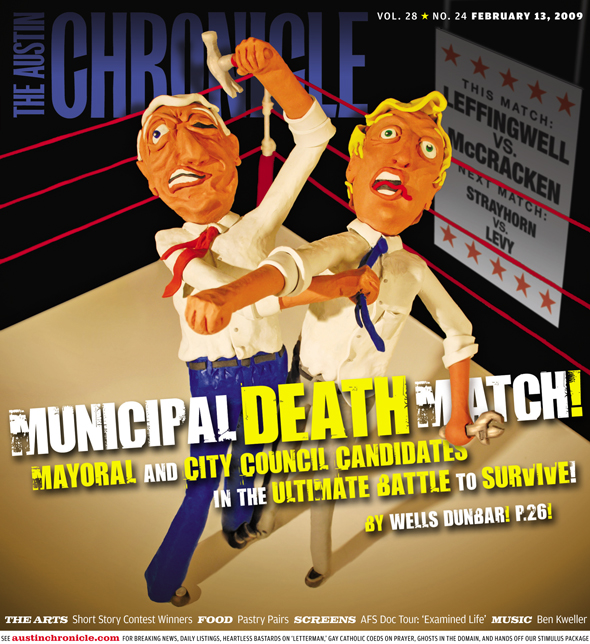 Chronicle cover for the Feb 13th issue