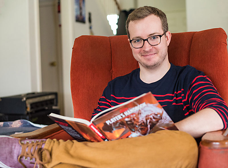 My Brothers Place >> Into The Adventure Zone With Griffin McElroy: Griffin ...