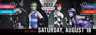 Texas Rollergirls Pulling for Mayor Leffingwell at Fun Fun Fun (Literally)