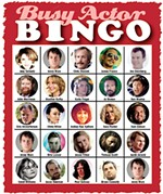 Play Along With Busy Actor Bingo