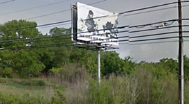 Unpermitted MLK Billboard Removed by Owner