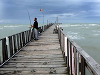 Day Trips: Oso Pier & Grill, Corpus Christi