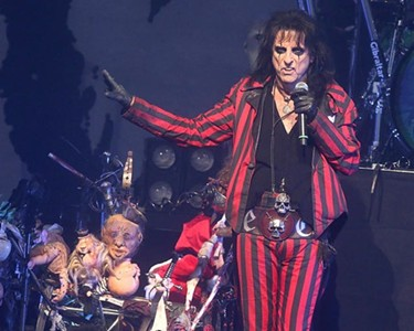 For Friday the 13th... Alice Cooper