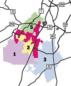 Redistricting of the Barton 