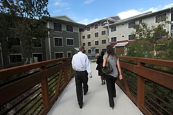 Foundation Communities' M Station, an affordable housing development that opened in 2011