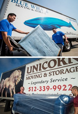 Best Movers: TIE: Blue Whale; Unicorn