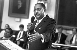 Sen. Rodney Ellis has vowed that the Senate's 11 Democrats will block any voter-ID bills from coming to the floor.