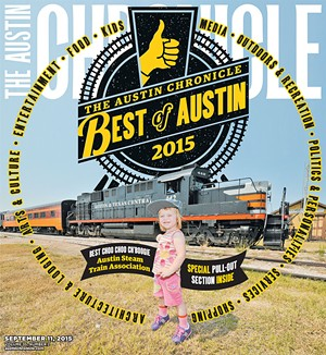Best of Austin 2015 Cover