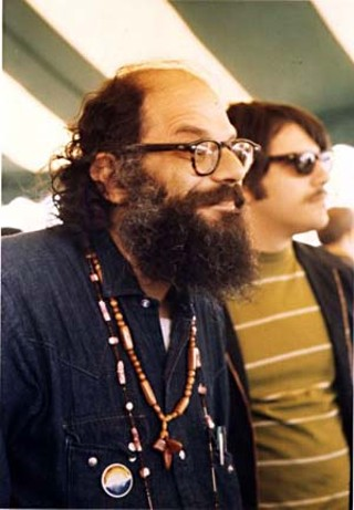 Allen Ginsberg at Philadelphia Earth Day