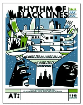 Rhythm of Black Lines: Paul Gigliotti