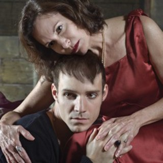 <i>Hamlet</i>, with Babs George and Justin Scalise