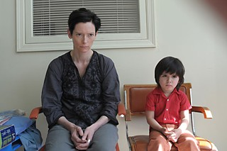 Tilda Swinton plays the mother of a killer in <i>We Need to Talk About Kevin</i>.
