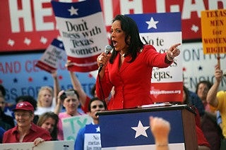 Austin Rep. Dawnna Dukes delivers a vigorous response against the state's assault on women's health care.