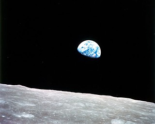 <i>Earthrise</i> by <i>Apollo 8 </i> astronaut Bill Anders