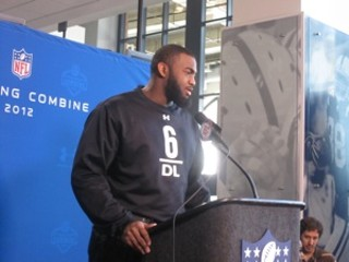 Michael Brockers at the Combine