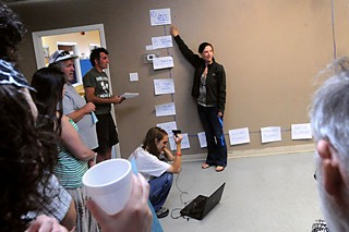 Betsy Dillner of the Seattle-based Alliance for a Just Society and the New Bottom Line 