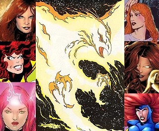 Sorry, aren't you dead? The many faces of Marvel Comics' Jean Grey, and the Phoenix that keeps bringing her back.