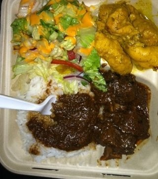 Reggae and jerk chicken at gemma love 39 s authentic for Authentic jamaican cuisine