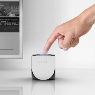 The OUYA: A tiny gaming console with big ideas.