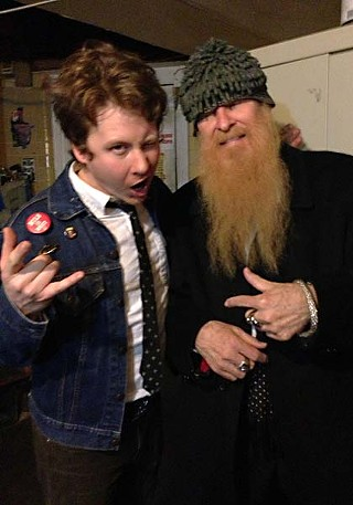 Ben Kweller (l) and Billy Gibbons