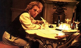 Dying to finish: Mozart (Tom Hulce) racing the reaper in