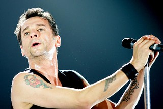 "Depeche Mode's ""Personal Jesus"" in 2005 at the AT&T Center in San Antonio"