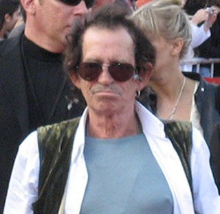 Keith Richards has no interest in the cloud