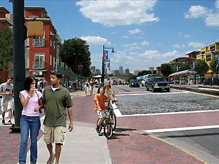 One vision of a transit-friendly East Riverside Corridor