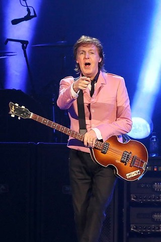 Paul McCartney in his Austin debut at the Frank Erwin Center, 5.22.13