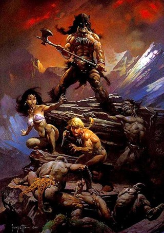 Next on Robert Rodriguez's slate? Test footage for Frank Frazetta's Fire and Ice screened at Wizard World Austin Comic Con