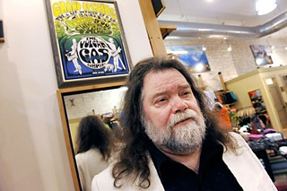 Roky Erickson in the Vulcan space last year