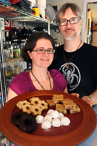 Gemma and Michael Matherne of Curious Confections
