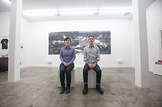 Thao Votang and Brian Willey of Tiny Park Gallery