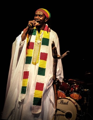 Praise Jah: Everton Blender headlining the Austin Reggae Festival, 4.20.14